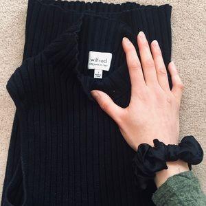 SOLD Wilfred sweater sleeveless dress MIDI
